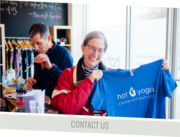 Contact Hot Yoga Charlottesville
